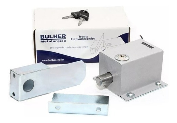 Trava De Portão Automático Bulher Eletromagnética 127/220v
