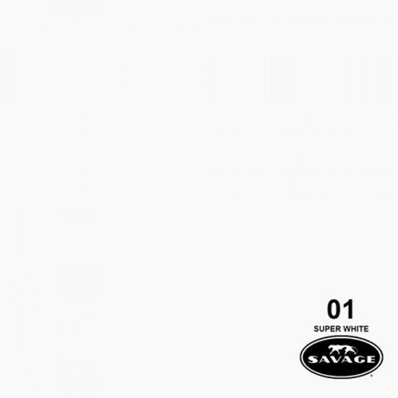 Ciclorama De Papel Super Blanco #01 Savage Chico