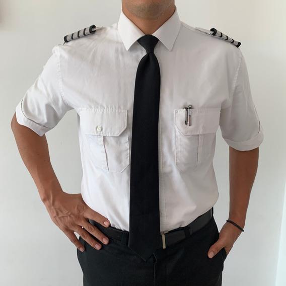 Camisa Para Piloto, Capitán, Seguridad, Chofer