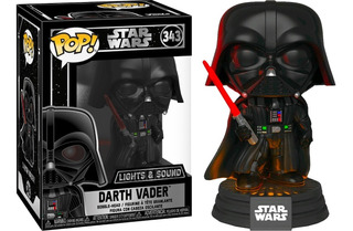 Funko Pop Darth Vader #343 Luces Y Sonido (en D3 Gamers)