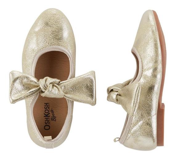 Ballerinas Nenas Oshkosh Dorado T 25 Original