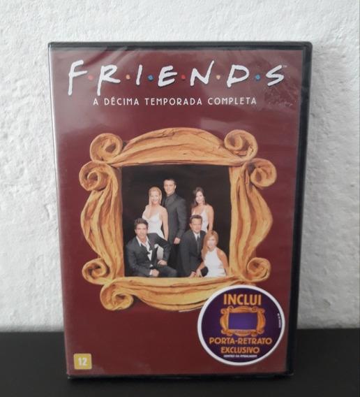 Dvd Friends 10ª Temporada - Lacrado - Décima