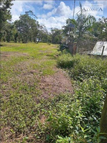 Imagem 1 de 1 de Terreno Para Chácara, 4868 M² Por R$ 400.000 - Parque Das Garças - Santo André/sp - Te0092