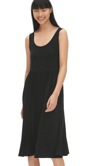 Vestido Casual Dama Corto Mujer Sin Mangas 418647 Gap