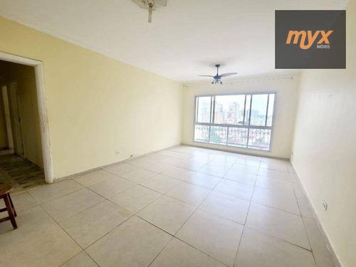 Imagem 1 de 19 de Apartamento Com 3 Dormitórios À Venda, 160 M² Por R$ 840.000 - Ponta Da Praia - Santos/sp - Ap6227