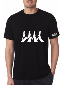 Camiseta Beatles Abbey Road Estampada