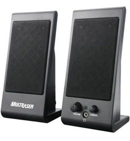 Mini Caixas De Som Multilaser Sp009 Speaker Flat 3w Rms Usb