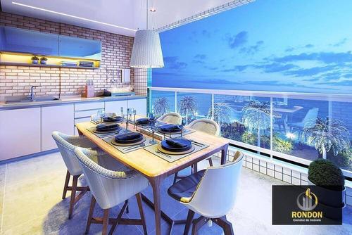 Apartamento Com 2 Dormitórios À Venda, 75 M² Por R$ 439.000,00 - Jardim Marina - Mongaguá/sp - Ap0030