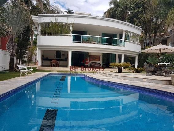 Maravilhosa Casa 4 Suítes E 8 Vagas De Garagem Em Nova Lima! - 7479