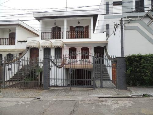 Sobrado Excepcional Com 3 Dormitórios (1 Suite) + 06 Vagas = 349 M², Localizado A 800 M Do Shopping Anália Franco - Vila Invernada. - 1083