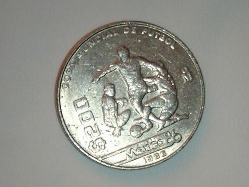 Imagen 1 de 1 de Moneda De 200  Pesos 1986