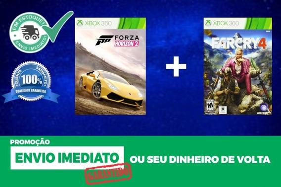 Far Cry 4 + Forza Horizon 2 - Xbox 360 Mídia Digital