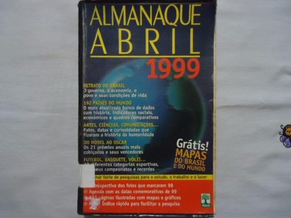 Livro Almanaque Abril 1999 @@