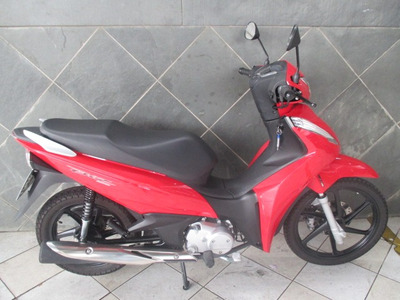 Honda Biz 125 Ex Vermelha 2018