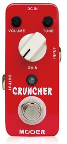 Pedal Para Guitarra Mooer Mcd Cruncher Distortion