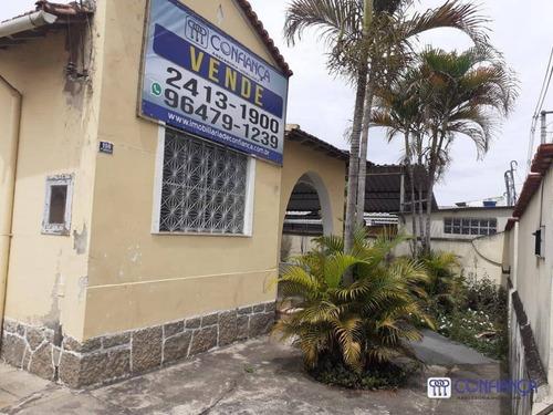 Casa Com 3 Dormitórios À Venda, 273 M² Por R$ 2.100.000 - Campo Grande - Rio De Janeiro/rj - Ca1882