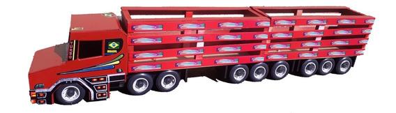 Caminhão Infantil Menino Brinquedo Criança Carreta