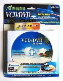 Kit 10 Cd Limpeza Para Lente Aparelho Limpa Dvd/blu-ray/game