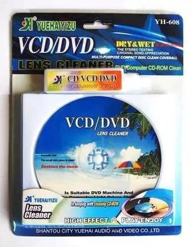Cd Limpeza Para Lente Aparelho Limpa Dvd/cd/blu-ray/game