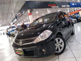 Nissan Tiida 1.8 Sl Automatico Couro Teto 2010