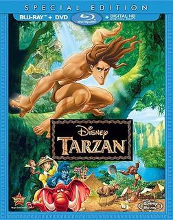 Tarzan Blu-ray Us Import