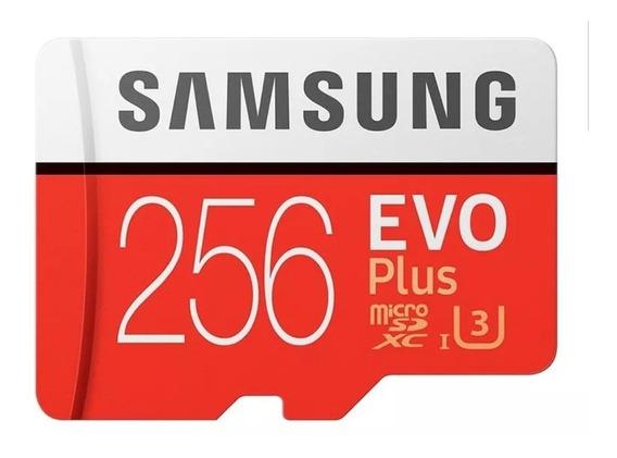 Cartão Memória Sansung Evo Plus 256gb Original