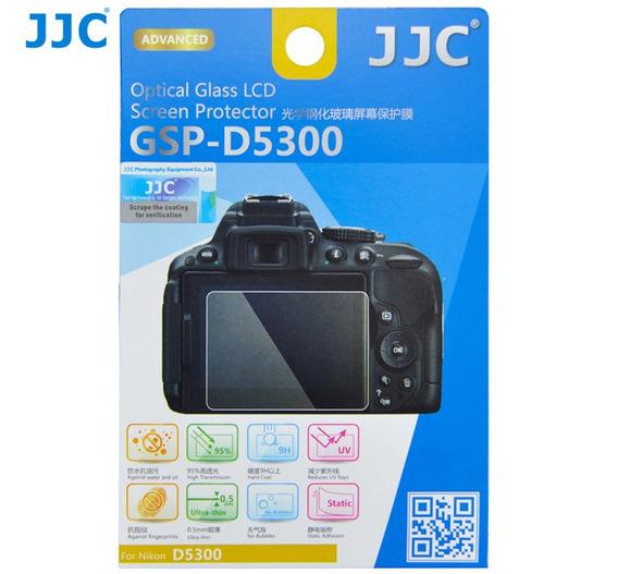 Protetor De Vidro Lcd Câmera Jjc Gspd5300 Nikon D5300