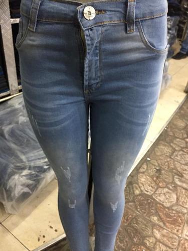 Pantalones De Dama Corte Alto Stretch Marca Bacci Slimfit Mercado Libre