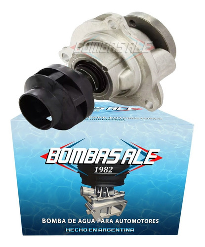 Bomba De Agua Ford Ecosport Fiesta Focus 1.6 8v Zetec Rocam