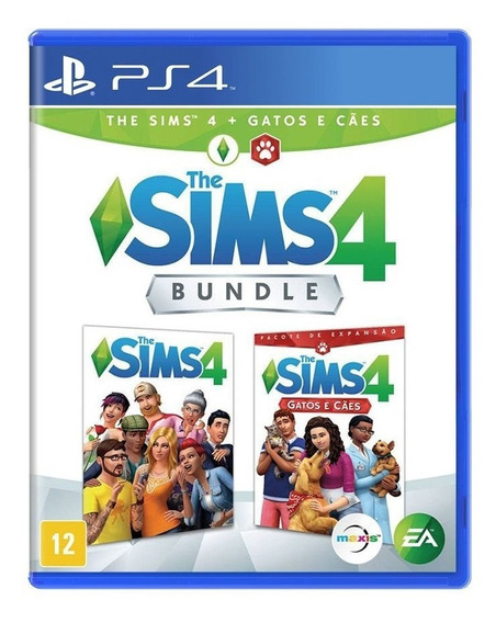 The Sims 4 Gatos E Cães Bundle Ps4 Midia Física Lacrado