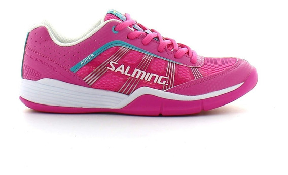 Zapatilla Squash Salming Adder Rosa