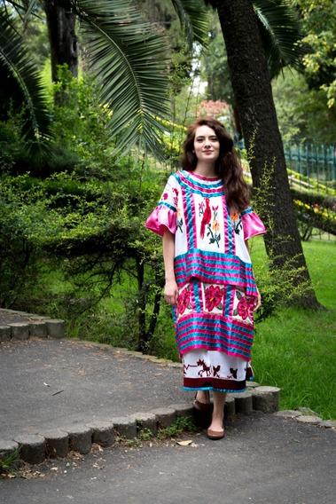Vestido Tradicional Oaxaqueño, Nacido En La Sierra Mazateca