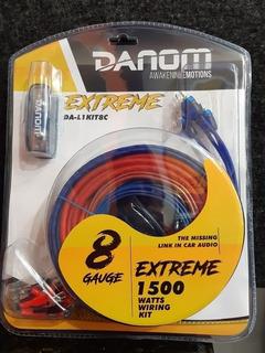 Kit De Cable De Sonido Calibre 8 Danom Nuevos Tienda 20 Vdrs