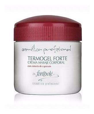 Gel Termogel Forte Reductor Anticelulitis Fontbote 500 Grs