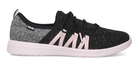 Zapatos Mujer Keds Studio Lively Wool Charcoal Make Moves