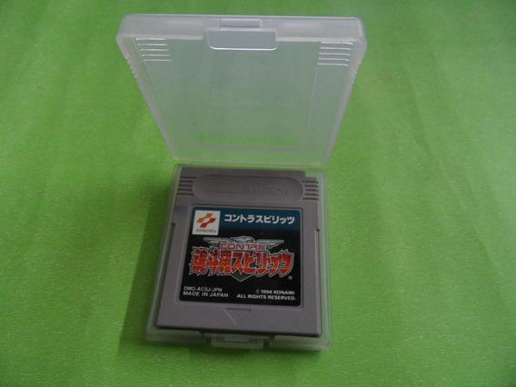 Contra: The Alien Wars Original Nintendo Game Boy Gbc Gba