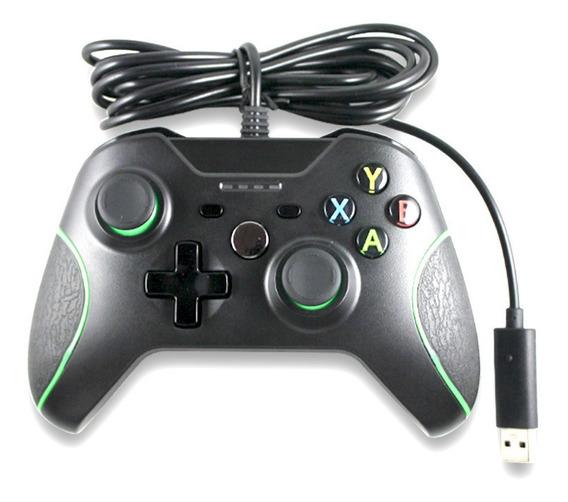 Controle Com Fio Usb Xbox Para Windows Pc Gamepad
