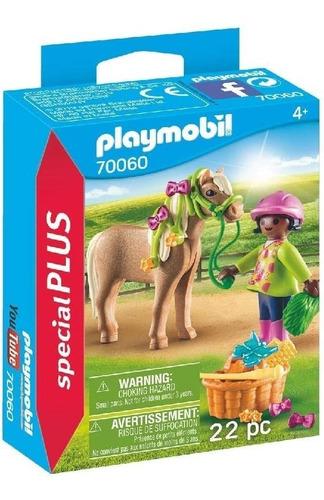 Playmobil Niña Con Pony 70060 Special Plus Ink Educando