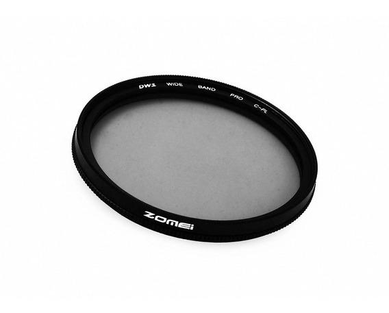 Filtro Cpl Polarizador Zomei Rosca 77mm Canon Nikon Sony