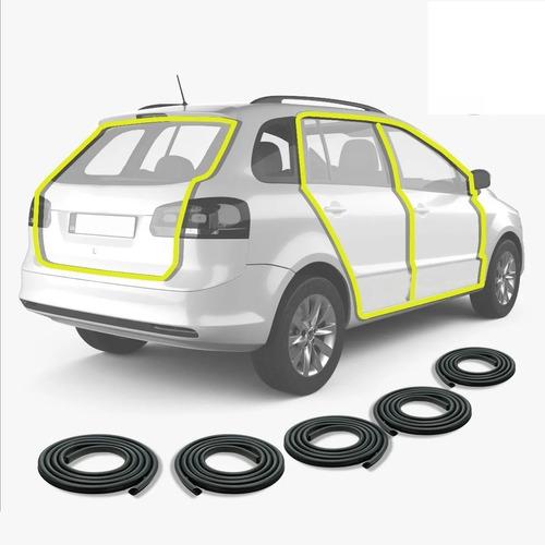 Combo 4 Burletes De Puertas Y Baul Para Volkswagen Suran