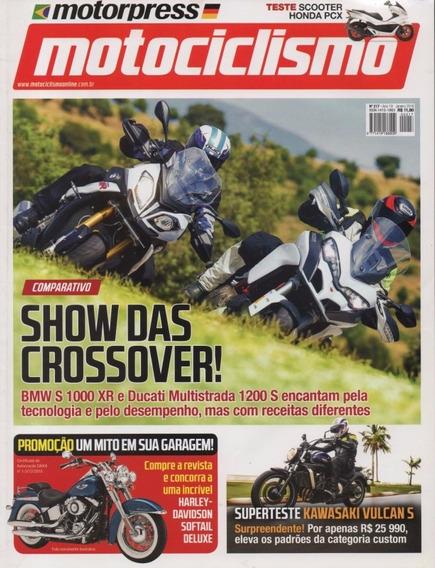 Motociclismo N°217 Bmw S1000xr Ducati Multistrada 1200s Pcx