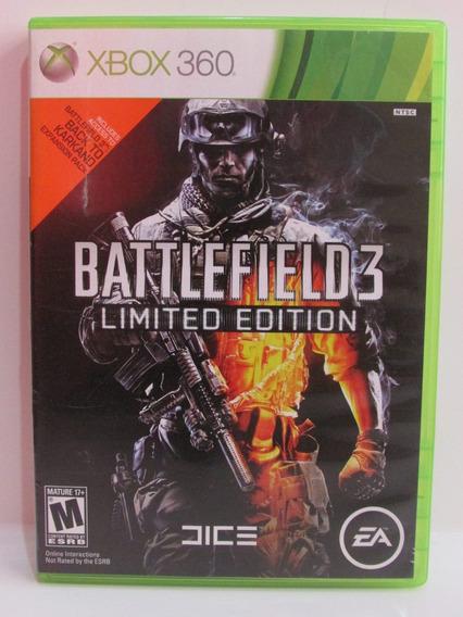 Battlefield 3 Limited Edition - Xbox 360 Original Completo