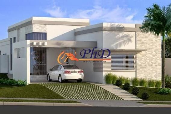 Terreno + Construção - Casa Em Condomínio A Venda No Bairro Chácara Morada Mediterrânea - Jundiaí, Sp - Ph67321