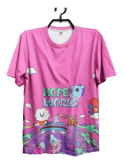 Bts Camiseta Bangtan Boys Army Cooky Rj Jimin Hope World Jin