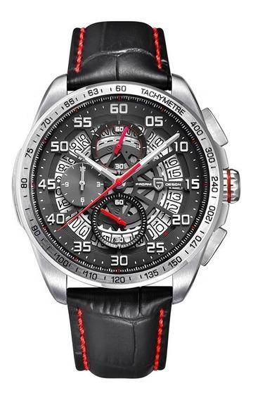 Reloj Pagani Design Carrera Skeleton Sport Acero Inoxidable