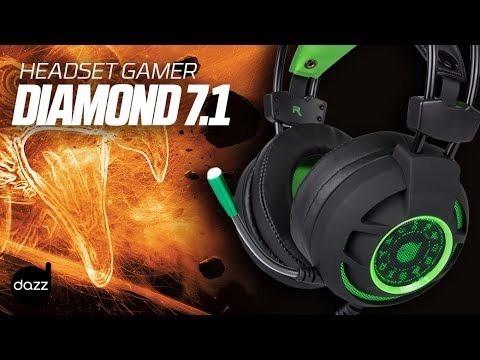 Fone Dazz Gaming Diamond Usb Surround 7.1 - 62468-5