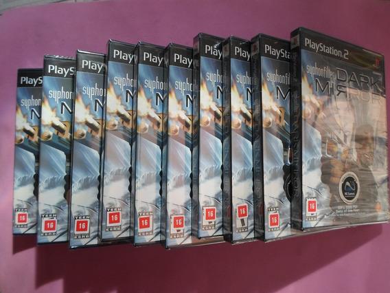 10 Jogos Syphon Filter Dark Mirror Original Para Play 2 Ps2