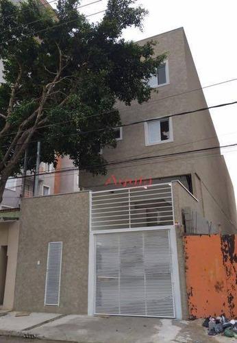 Apartamento Residencial À Venda, Vila São Pedro, Santo André - Ap0569. - Ap0569