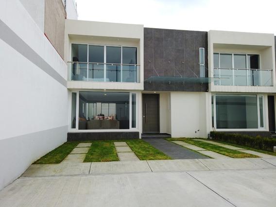 Casa Nueva En Fraccionamiento De 3 Recamaras En Metepec
