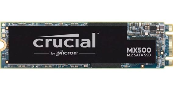 Hd Ssd M.2 M2 Sata Crucial Mx500 500gb 2280 Novo Original 12